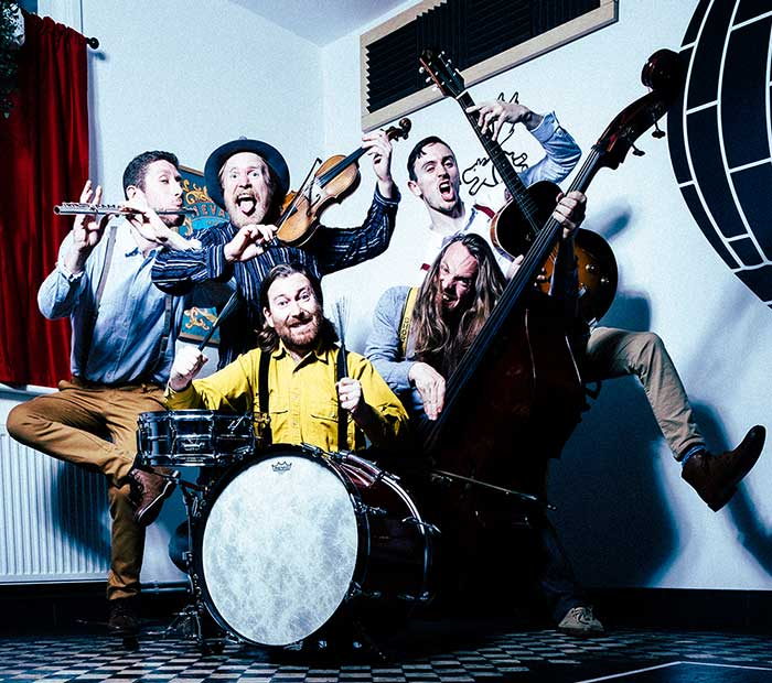 "For live music in 2018 we have ""foot-stomping folk tunes"" from Sheelanagig."
