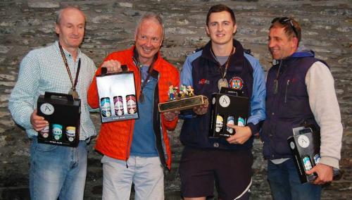 Drummond Wanderers 2017 Team (Bruce McKerracher, John Foxwell, Marcus Mackenzie, Dominic Hawthorn)