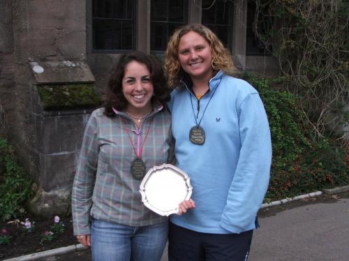 Katy Ryan (USA) silver medalist Carike Barnardos (S Africa)  2006