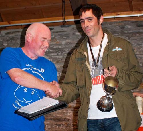 Dougie  Isaacs 2013 Male Champion