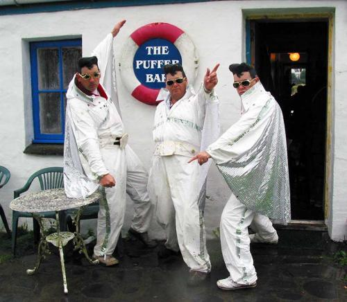 Elvis, Elvis and Elvis at The Puffer